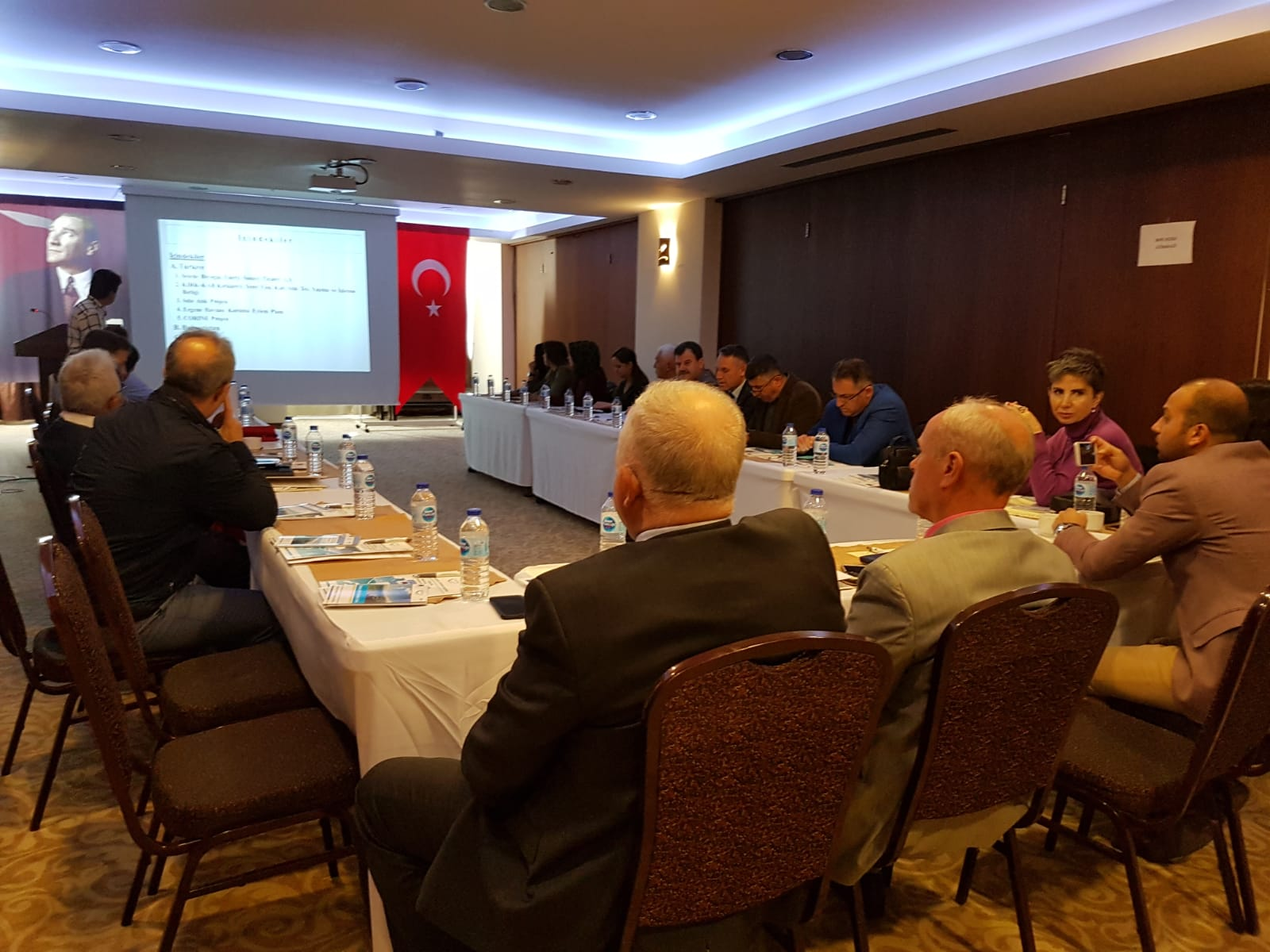 A Thematic Conference with the Local Stakeholders in Demirköy was orginized