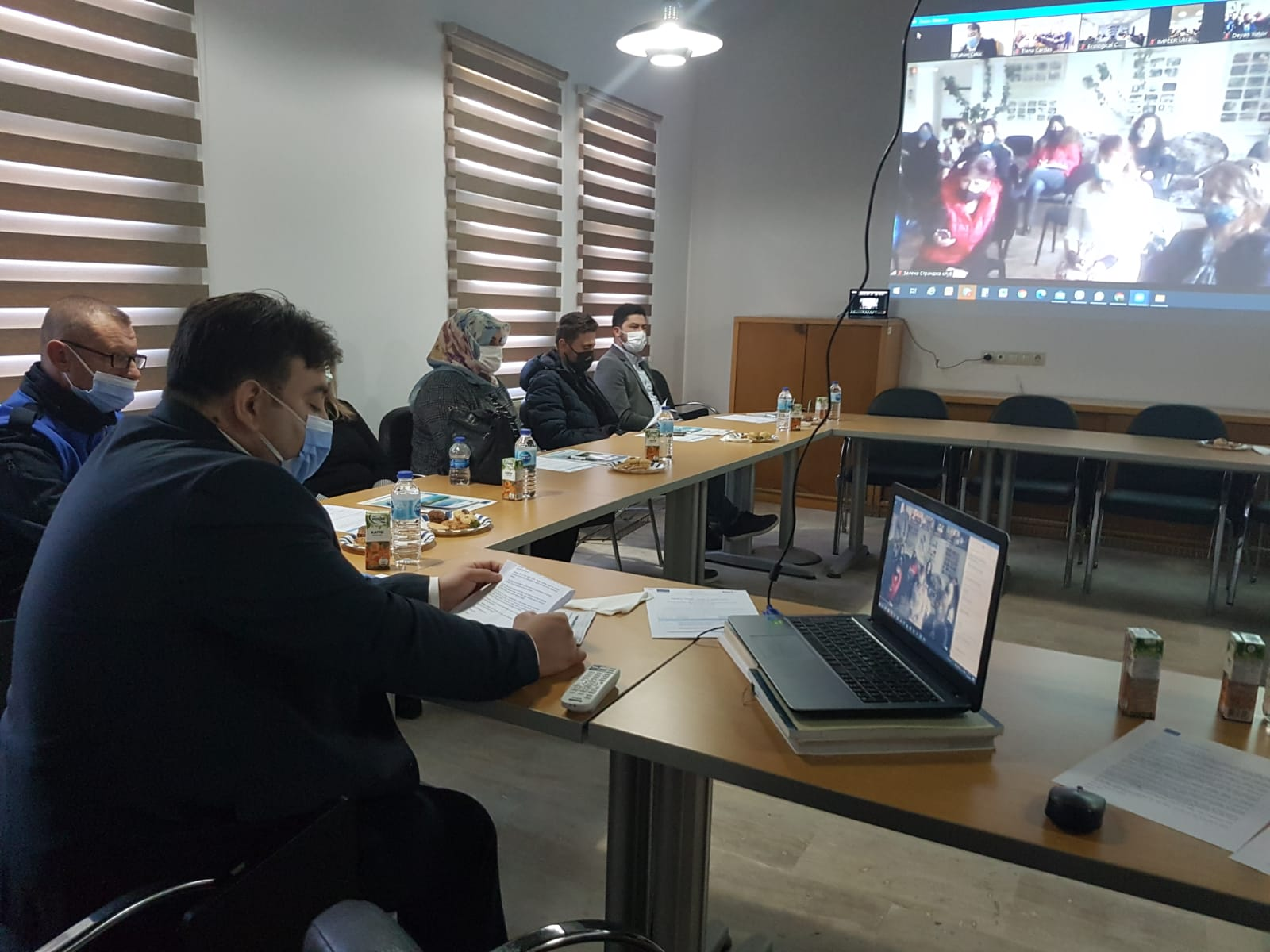 The international conference held online for sharing of the best practices in Black Sea Basin